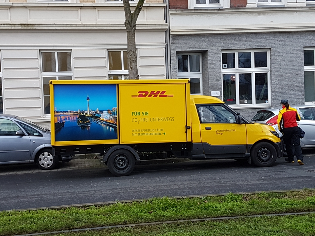 StreetScooter Deutsche Post DHL