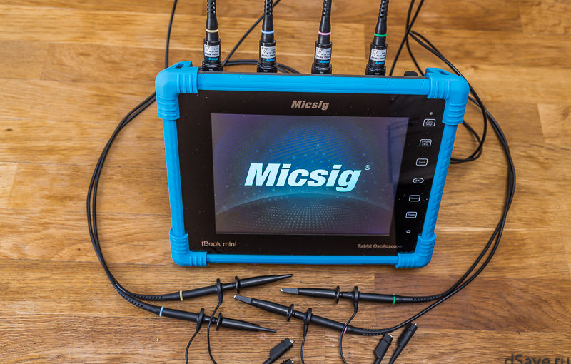 Oscilloscope Micsig TO1104